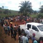 BURUNDI : TRAVAUX DE DEVELOPPEMENT COMMUNAUTAIRE  - Entretien d'une route de la commune RUGAZI à BUBANZA