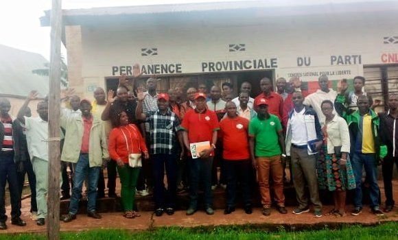 BURUNDI : RWASA Agathon, patron du CNL, en réunion à NGOZI