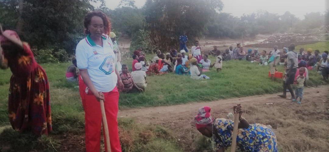 BURUNDI : TRAVAUX DE DEVELOPPEMENT COMMUNAUTAIRE – Activité champêtre à la Coopérative VASO à MUHA, BUJUMBURA