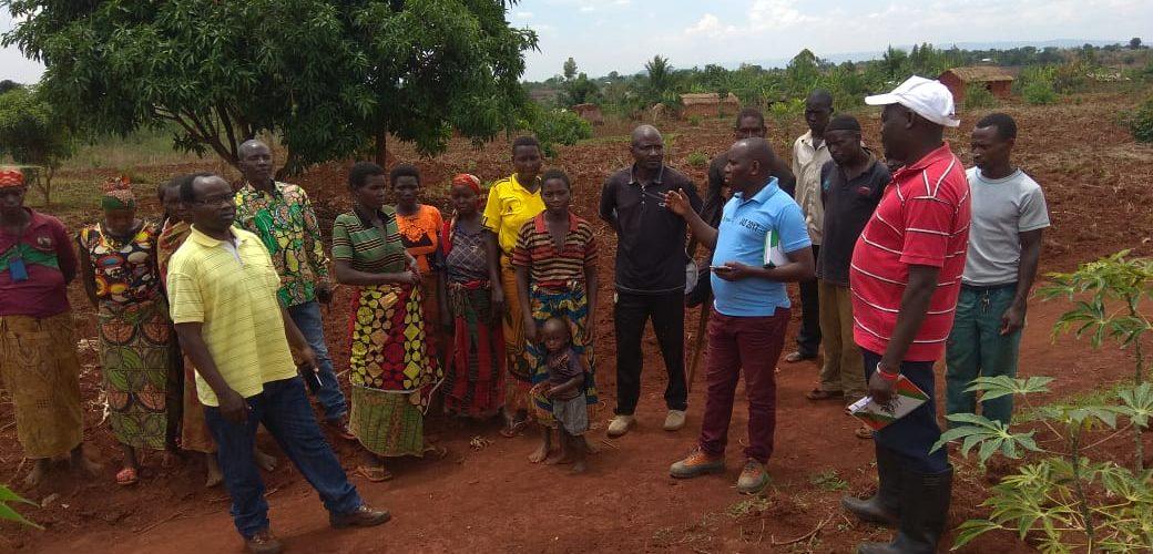 Le CNDD-FDD KINYINYA visite les coopératives locales à RUYIGI / BURUNDI