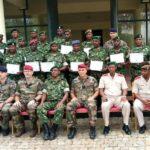 LA FORCE DE DEFENSE NATIONALE DU BURUNDI termine une formation donnée par des officiers FRANCAIS