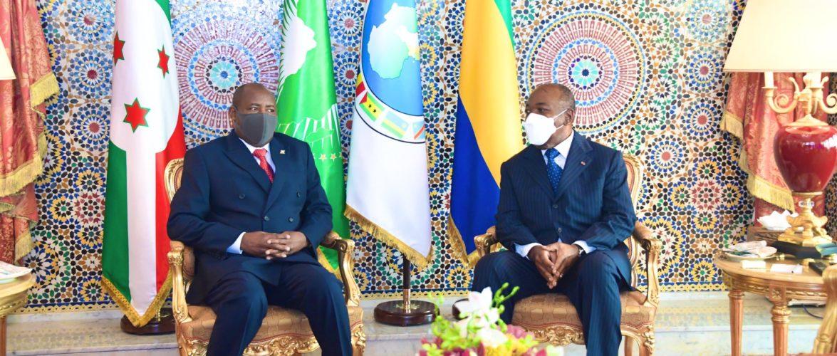 BURUNDI / GABON : Rencontre entre NDAYISHIMIYE – BONGO ONDIMBA
