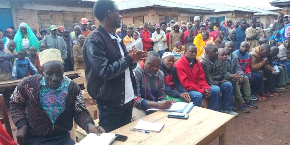 BURUNDI : Réunion pour les commerçants de la zone KIREMBA, GASORWE / MUYINGA