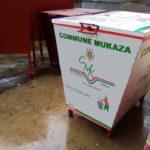 Installation de poubelles publiques en commune MUKAZA, BUJUMBURA / BURUNDI