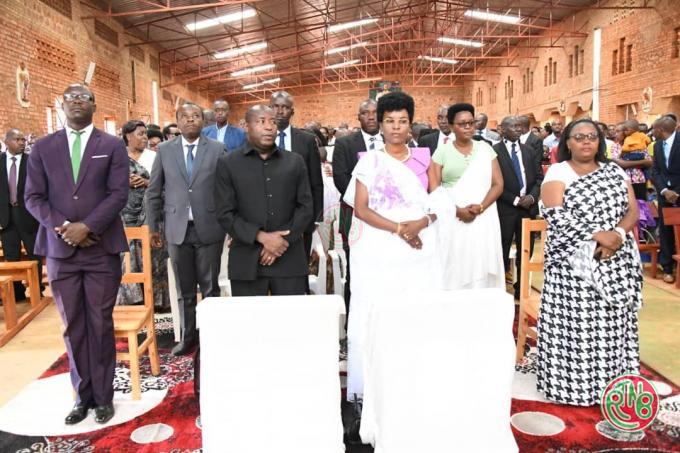 Le Chef de l'Etat souhaite bonne fête de la Toussaint aux chrétiens burundais