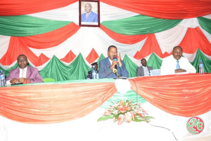Le Président du Sénat appelle la population de Bujumbura au changement de mentalité