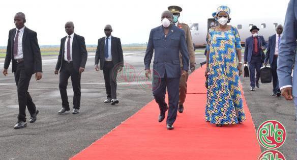 Le Chef de l'Etat rentre de la Guinée Equatoriale