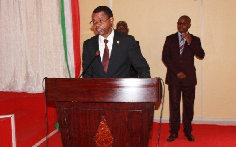 Le président du  Sénat Burundais  ouvre la session ordinaire de décembre 2020