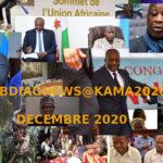 BURUNDI / Petit tour sur l'actualité sur KAMA ou l' AFRIQUE , AFRICA – DECEMBRE 2020 / 10-12-2020