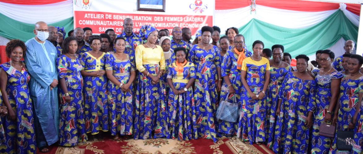BURUNDI : L' OPDAD débat sur l'autonomisation de la FEMME à MUYINGA