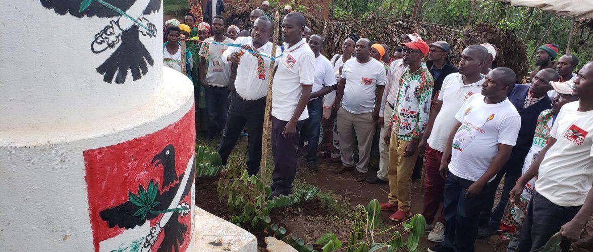 BURUNDI : Inauguration d'un kiosque CNDD-FDD en colline NYAGWAGA / BURURI