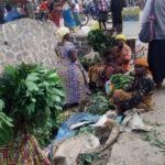 BURUNDI : Une agricultrice-vendeuse de manioc à MPANDA / BUBANZA