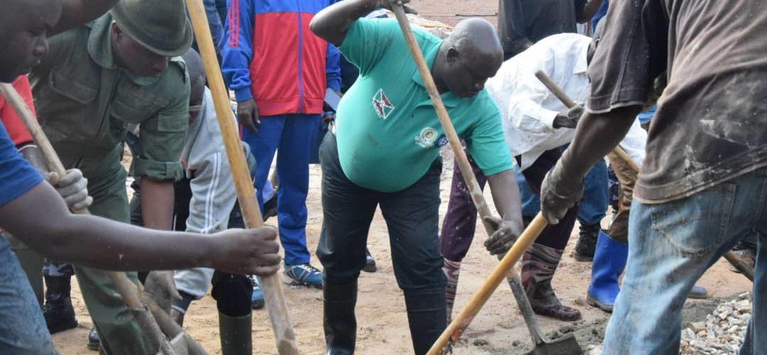 BURUNDI : TRAVAUX DE DÉVELOPPEMENT COMMUNAUTAIRE – Construire le nouveau BUREAU PROVINCIAL DE RUYIGI