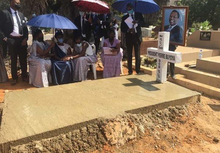 BURUNDI : Inhumation du dictateur HIMA BUYOYA Pierre à BAMAKO, MALI