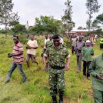 BURUNDI : TRAVAUX DE DEVELOPPEMENT COMMUNAUTAIRE - Planter plus de 4000 arbres en colline NTAMBA à MUYINGA