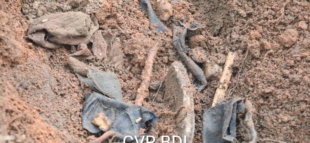 GENOCIDE CONTRE LES HUTU DU BURUNDI DE 1972 : La CVR fouille à MUGARA et MUTAMBARA / RUMONGE