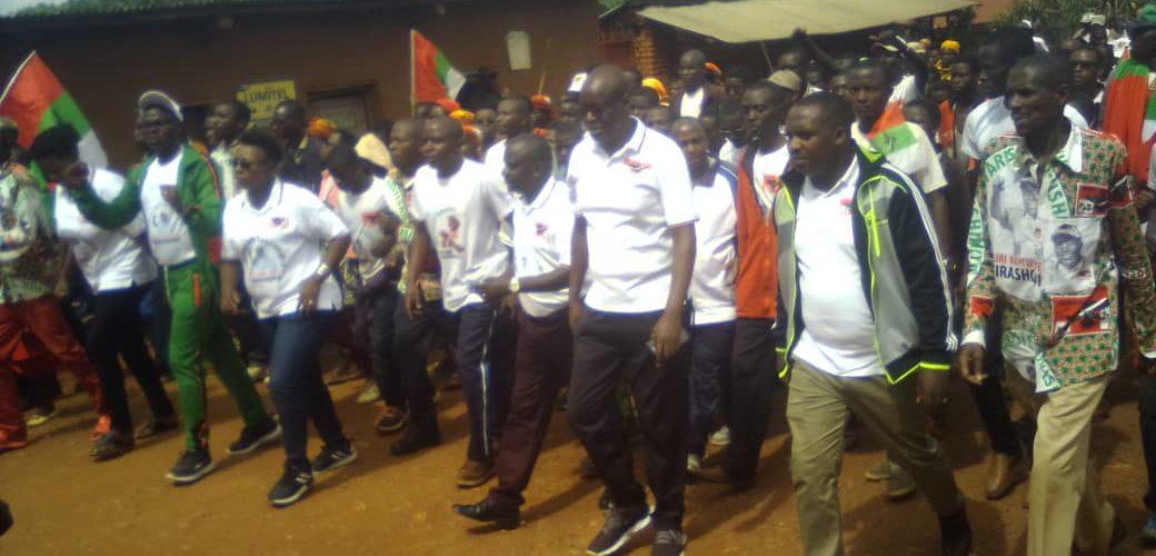 BURUNDI : IMBONERAKURE – DAY , Journée dédiée aux jeunes militants CNDD-FDD à BISORO / MWARO