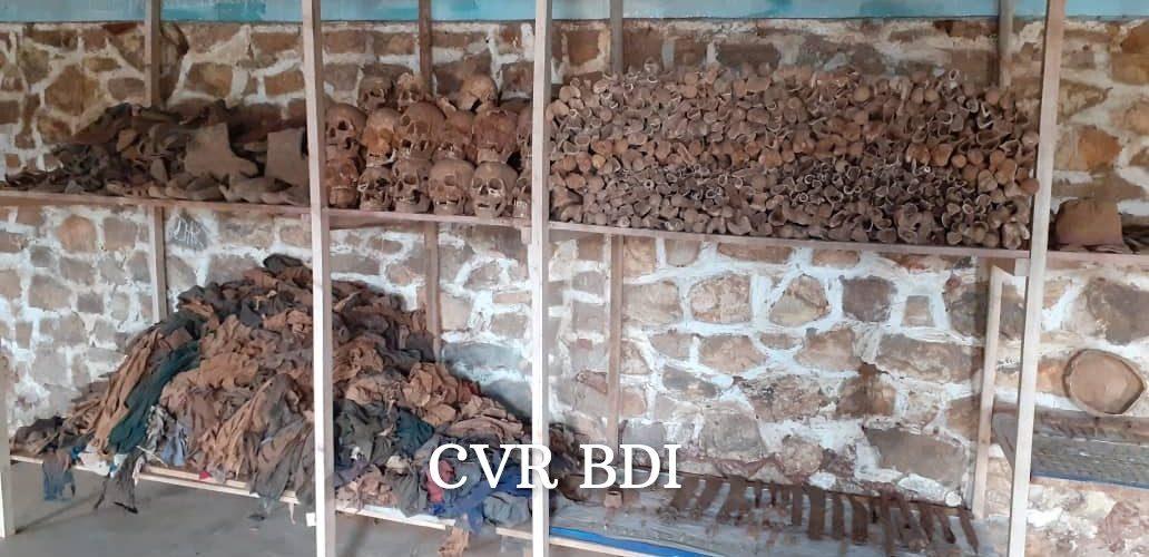 GENOCIDE CONTRE LES HUTU DU BURUNDI EN 1972 :  CVR  – Pour 2021, Visitez le musée du souvenir à MAKAMBA