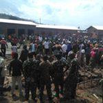 BURUNDI : TRAVAUX DE DEVELOPPEMENT COMMUNAUTAIRE - Paver le marché de RUGUNGA en construction à GIHANGA / BUBANZA