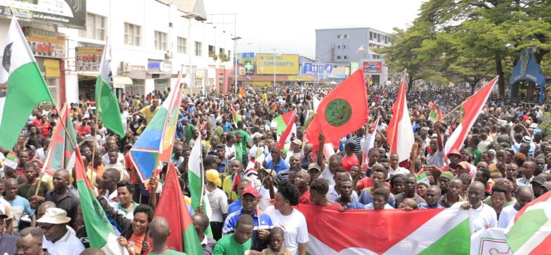 BURUNDI / ONU : 1 MILLION de BARUNDI marchent pour une victoire PANAFRICAINE