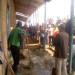 BURUNDI : TRAVAUX DE DÉVELOPPEMENT COMMUNAUTAIRE - Restaurer le préau du Lycée communale de SHOMBO / MURAMVYA