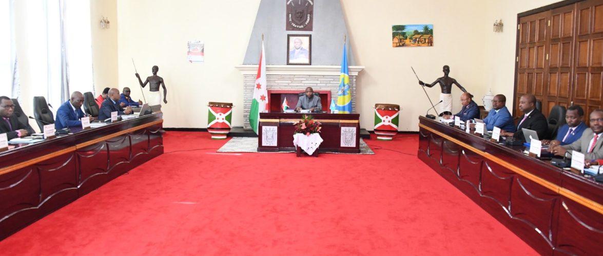 BURUNDI : Retraite Gouvernementale sur l'harmonie de LA PLANIFICATION / GITEGA