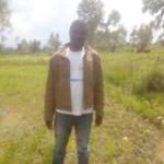 BURUNDI : Un CULTIVATEUR de riz sur la colline KAJERI à BUHIGA / KARUSI