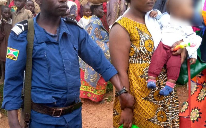 BURUNDI : A KAYANZA, la police a retrouvé le bébé kidnappé à NGAGARA
