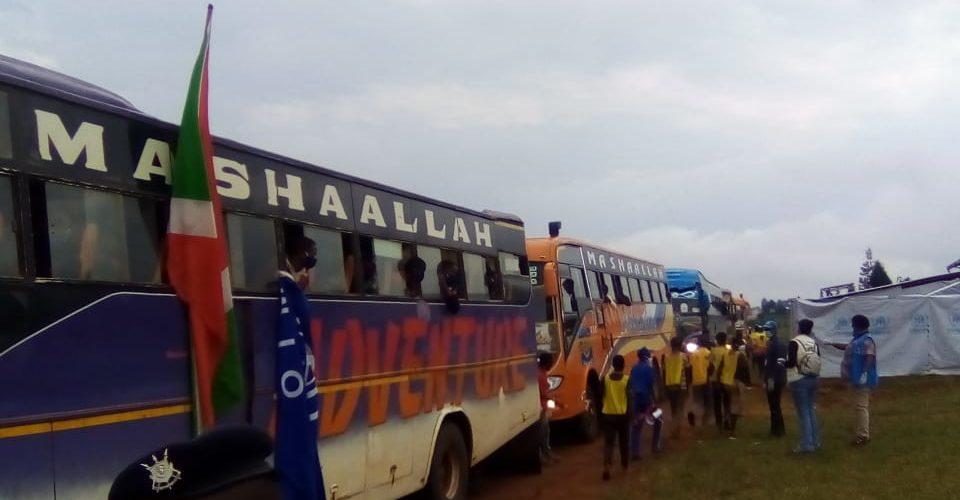 Burundi : 242 rapatriés, ex-réfugiés de Tanzanie, arrivés à MAKAMBA