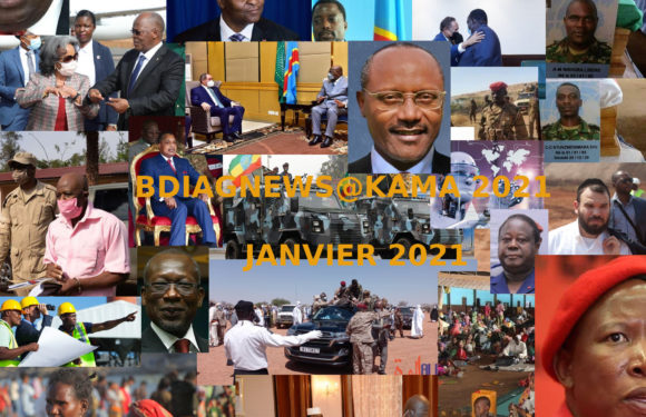 BURUNDI / Petit tour sur l'actualité sur KAMA ou l' AFRIQUE , AFRICA – JANVIER 2021 / 27-01-2021