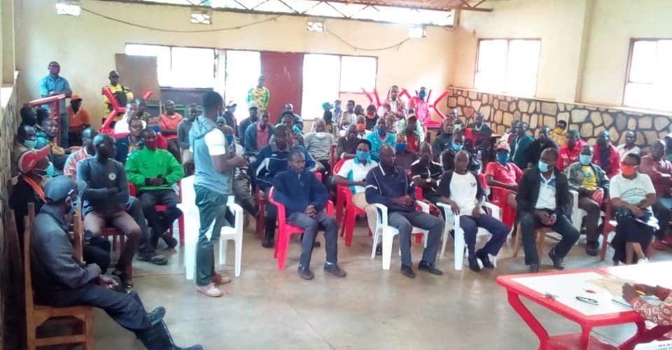 BURUNDI : Le CNDD-FDD RUTANA en réunion discute mesures anti COVID-19