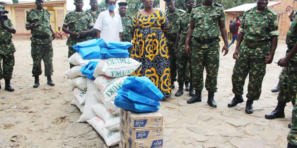 BURUNDI : La FDNB organisait des actions de charités / BUJUMBURA