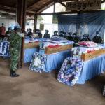 BURUNDI / MINUSCA :  Adieux aux 3 casques bleus  FDNB morts aux combats à DEKOA, RCA