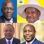 BURUNDI / EAC : Entretiens présidentielles NDAYISHIMIYE - MAGUFULI - MUSEVENI - KENYATTA
