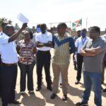 BURUNDI : Rencontre avec les employés de l'OBR au port de RUMONGE