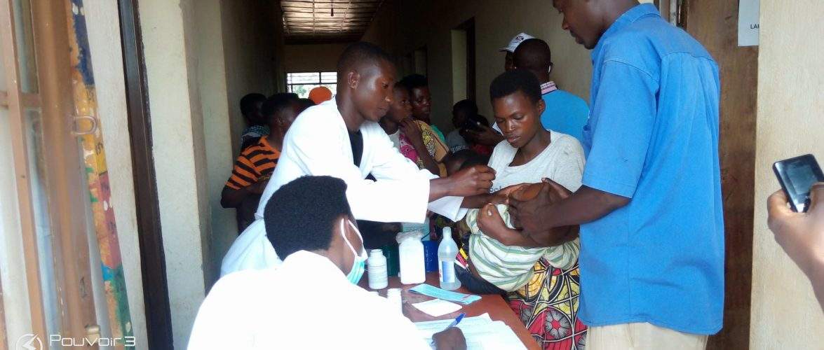 BURUNDI : Semaine de la Santé Mère Enfant et contre la rougeole à BUGABIRA / KIRUNDO