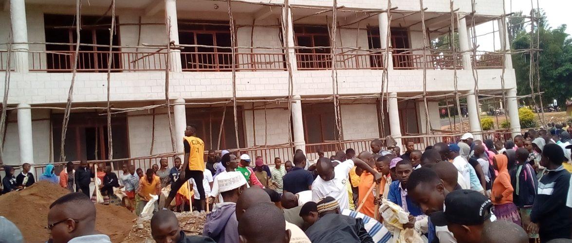 BURUNDI : TRAVAUX DE DEVELOPPEMENT COMMUNAUTAIRE – Construire l'immeuble des services provinciaux de MAKAMBA