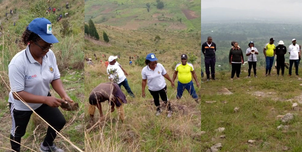 BURUNDI : TRAVAUX DE DEVELOPPEMENT COMMUNAUTAIRE – Planter 15.000 arbres en colline NYAGUTOHA / RUYIGI