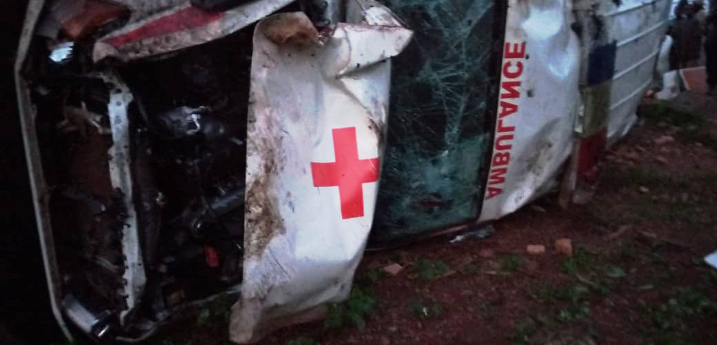 BURUNDI : Accident impliquant une ambulance de l'hôpital de GASHOHO / MUYINGA