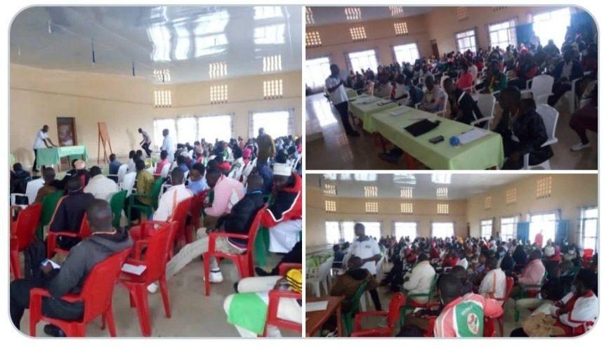 BURUNDI : Rencontre entre l'ANACOOP et les coopératives de MUYINGA