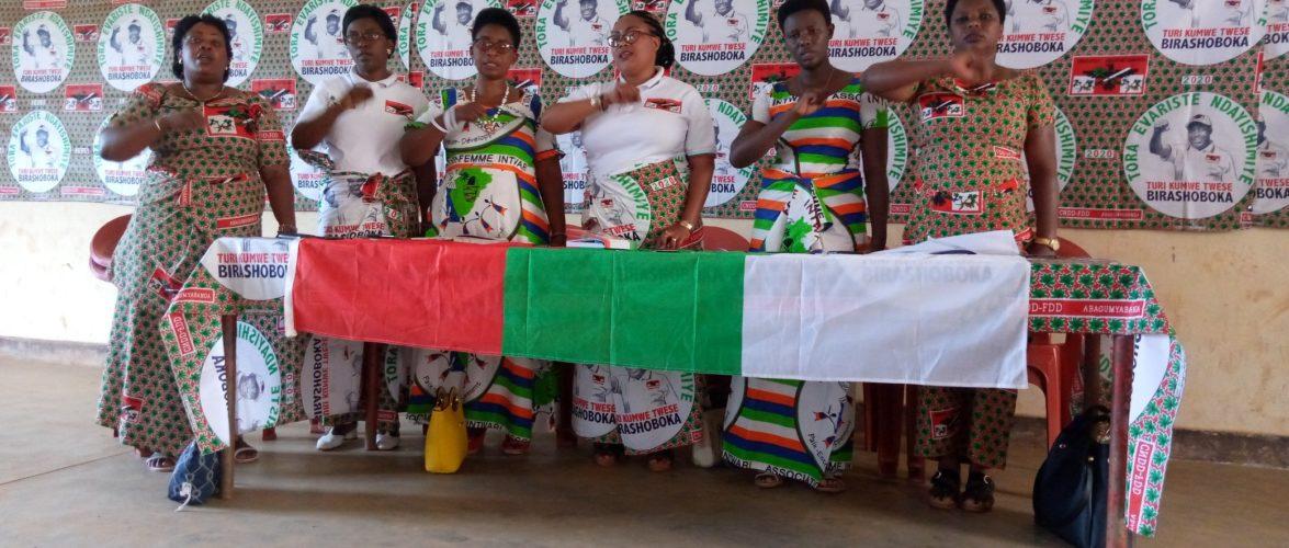 BURUNDI : Les femmes CNDD-FDD de KAYANZA préparent les élections 2025