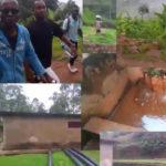 BURUNDI : ODJ et GISABO TOURS visite la source de l'eau de KINJU / BUJUMBURA
