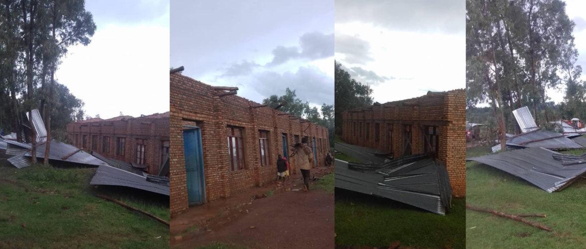 BURUNDI : Dégâts causés à KIGANDA par la pluie et les vents violents / MURAMVYA