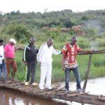 BURUNDI : Visite d'un centre de développement piscicole au marais de CANZIKIRO / KARUSI