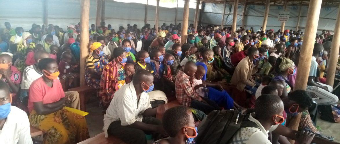 BURUNDI : Accueil de 732 rapatriés des camps de MAHAMA au RWANDA / MUYINGA