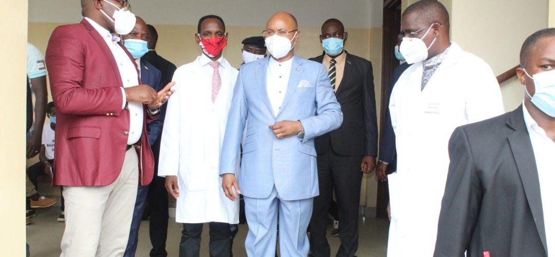BURUNDI : Le PREMIER MINISTRE part en campagne contre la COVID-19