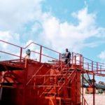 BURUNDI : Visite du chantier de la SOTB à GASORWE / MUYINGA