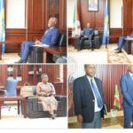 Le Premier ministre Alain Guillaume Bunyoni reçoit en audience les membres de l'OPEGCH