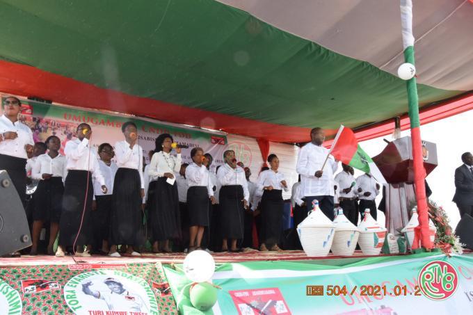 Gitega: le parti au pouvoir organise une prière d'action de grâce interconfessionnelle