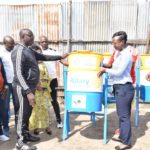 BURUNDI : 20 poubelles installées à BUYENZI, BWIZA, NYAKABIGA à MUKAZA / BUJUMBURA